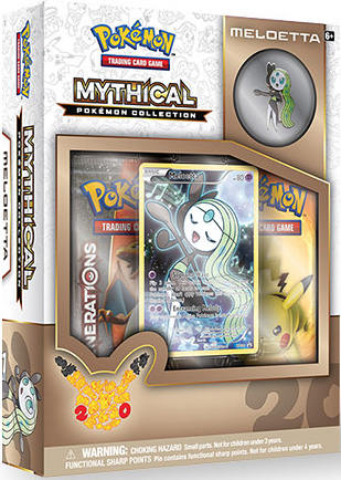 Pokemon Mythical Collection: Meloetta