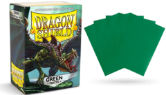 Dragon Shield Matte Standard-Size Sleeves - Green - 100ct