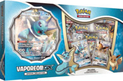 Pokemon Vaporeon GX Special Collection Box