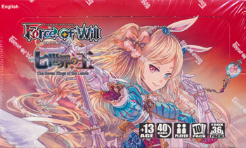 Force of Will The Seven Kings Of The Lands Booster Box
