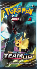 Pokemon Sun & Moon SM9 Team Up Booster Pack