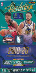 2019-20 Panini Absolute Memorabilia NBA Trading Cards Hobby Box