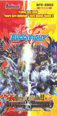 Buddyfight BFE-EB02 Great Clash!! Dragon vs Danger Booster Box