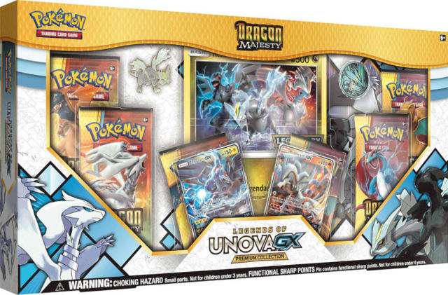Pokemon Dragon Majesty Legends of Unova-GX Collection Box