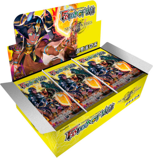 Force of Will V1 New Dawn Rises Booster Box