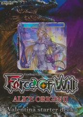 Force of Will AO2: Alice Origins II: Valentina Starter Deck