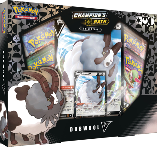 Pokemon Champions Path Dubwool V Collection Box