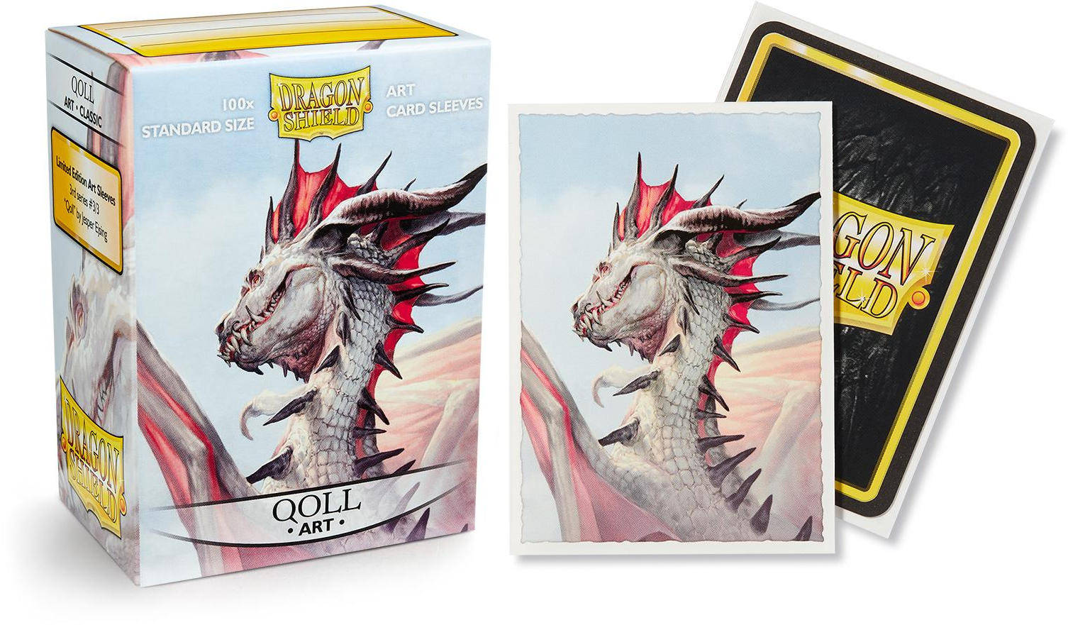 Dragon Shield Classic Art Standard-Size Sleeves - Qoll - 100ct