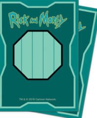 Ultra Pro Standard Size Rick and Morty  Sleeves -
