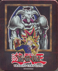 Yu-Gi-Oh 2002 Summoned Skull Collectors Tin with 5 Packs and BPT-002 Card