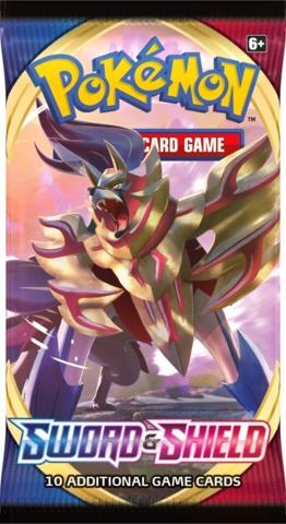 Pokemon Sword & Shield SWSH1 Base Set Booster Pack