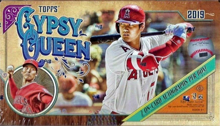 2019 Topps Gypsy Queen Mlb Baseball Hobby Box Sports Cards