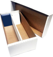 2-Rowed Shoe Storage Box (Holds Approximately 2,000 Cards)