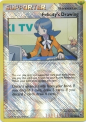 Felicity's Drawing 98/106 Crosshatch Holo Promo - 2010 Pokemon League