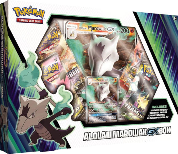 Pokemon Alolan Marowak GX Collection Box