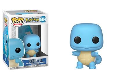 Funko POP! Pokemon Figure - Squirtle #504