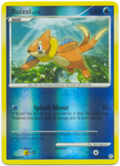 Buizel - 72/130 - Common - Reverse Holo