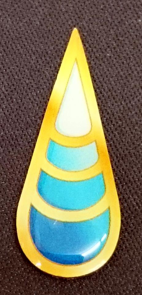 TCG Unova League Wave Badge - Humilau City