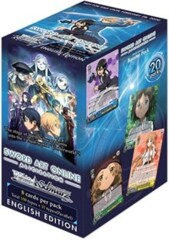 Weiss Schwarz Sword Art Online: Alicization Booster Box