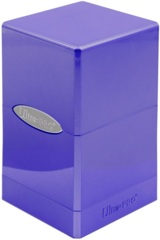 Ultra Pro Satin Deck Box - Hi-Gloss Amethyst
