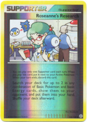 Roseanne's Research - 125/132 - Uncommon - Reverse Holo