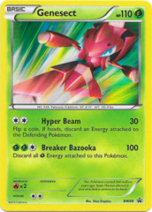 Genesect BW99 Sheen Holo Promo - Red Genesect Collection