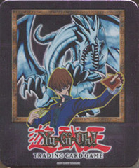 Yu-Gi-Oh 2002 Blue Eyes White Dragon Collectors Tin with 5 Packs and BPT-003 Card