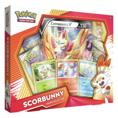 Pokemon Galar Collection Box - Scorbunny with Zamazenta