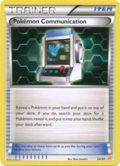 Pokemon Communication 24/30 Non-Holo Promo - Excadrill Trainer Kit Exclusive