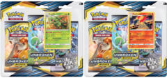Pokemon Sun & Moon SM10 Unbroken Bonds Blister Packs: Set of 2