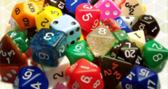 25 Assorted Dice