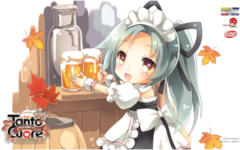 Player's Choice Tanto Cuore Playmat - Beer Stand