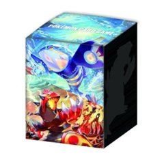 Japanese Pokemon XY Groudon & Kyogre Deck Box