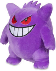 Pokemon Center Gengar Plush 6.5