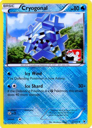 Cryogonal 32/101 Crosshatch Holo Promo - 2012 Pokemon League