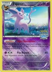 Espeon 48/108 Crosshatch Holo STAFF Promo - 2012 National Championships