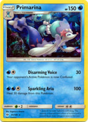 Primarina 41/149 Cracked Ice Holo Promo - Theme Deck Exclusive