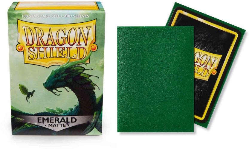 Dragon Shield Gold Matte 100 Standard Card Sleeves Magic Dragon Ball