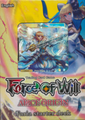 Force of Will AO1: Alice Origins: Faria Starter Deck