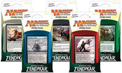 MTG Battle for Zendikar Intro Packs: Set of 5 Decks
