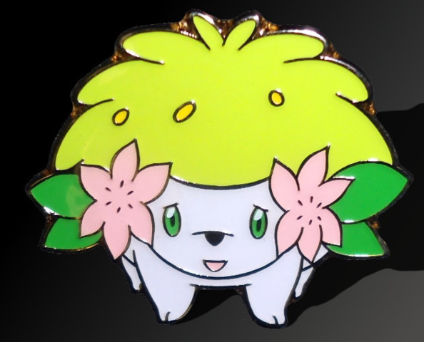 Shaymin Pin - Mythical Shaymin Collection Exclusive