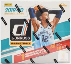 2019-20 Panini Donruss NBA Basketball HOBBY Box