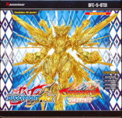Buddyfight Ace BFE-S-BT01 Gargantua Awakened Booster Box