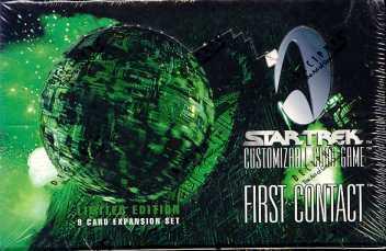 Star Trek CCG First Contact Booster Box