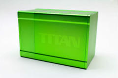 Boxgods Titan Solid Green Deck Box