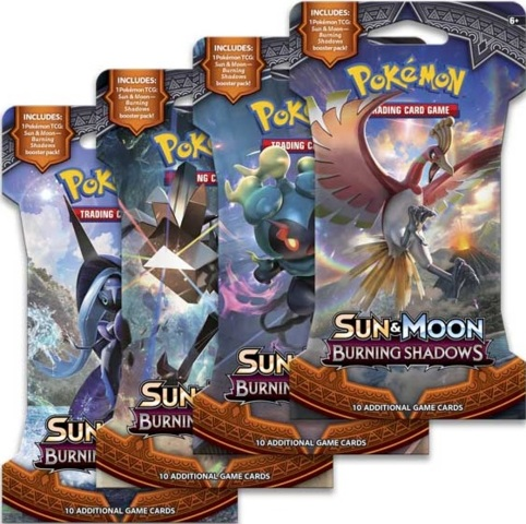 Pokemon SM3 Burning Shadows Sleeved Booster Case (144ct)