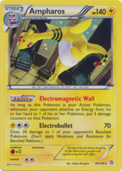Ampharos 40/124 Cosmos Holo Promo - Legendary Treasures Blister Exclusive