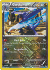 Garchomp - 90/124 - Rare - Reverse Holo