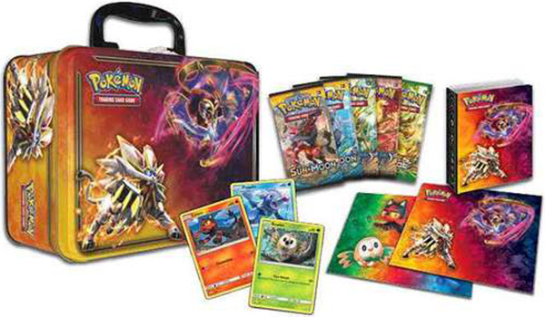 Pokemon 2017 Spring Sun & Moon Collectors Chest