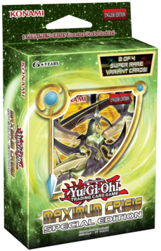 Yu-Gi-Oh Maximum Crisis Special Edition Pack